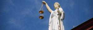 Figure emblématique de la justice.