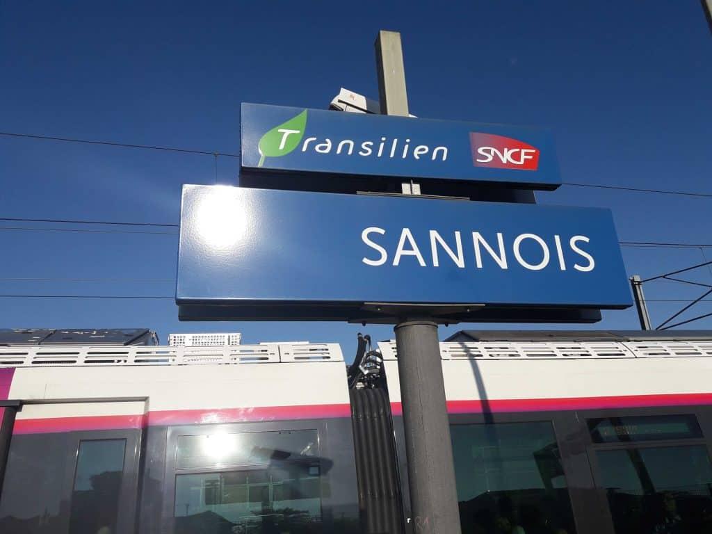 Gare de Sannois, transilien SNCF