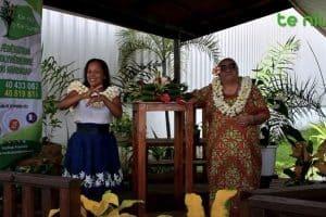 Photo de 2 personnes de la fédération Te Niu o te Huma