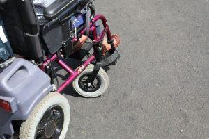 Photo d'un fauteil roulant