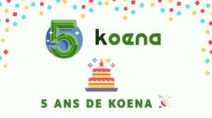 5 ans de Koena